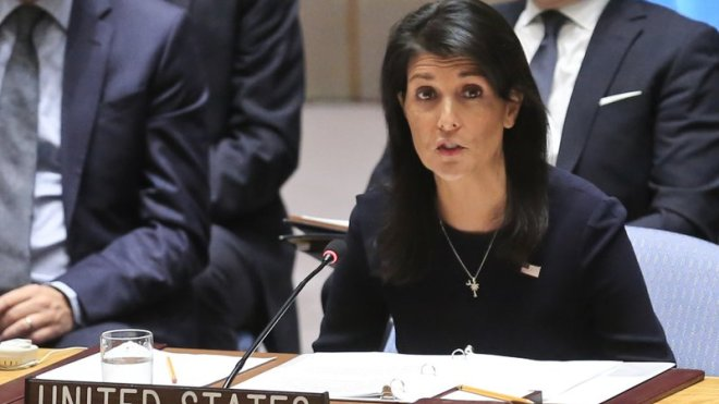 Ambassador Haley's Remarks at UNSC Meeting on Syria