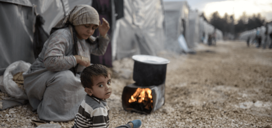 A Million Syrian Children Born in Neighboring Countries Since 2011