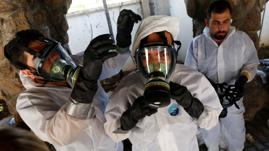 Syria may be using chemical weapons against its citizens again — here's how international law has changed to help countries intervene