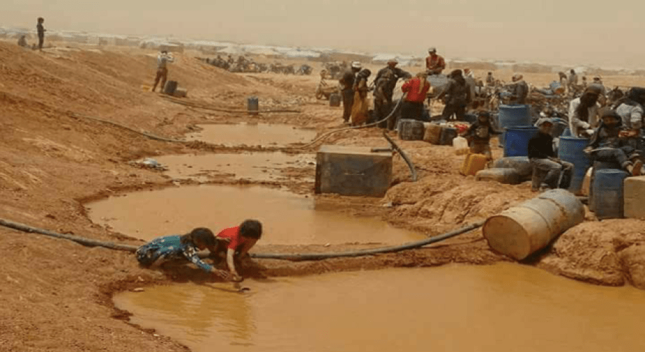 Drinking Water Cut off for a Fourth Day at the al-Rukban Camp