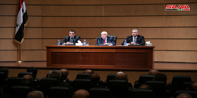 Muallem: Syria Will Not Accept Independent or Federal Entities