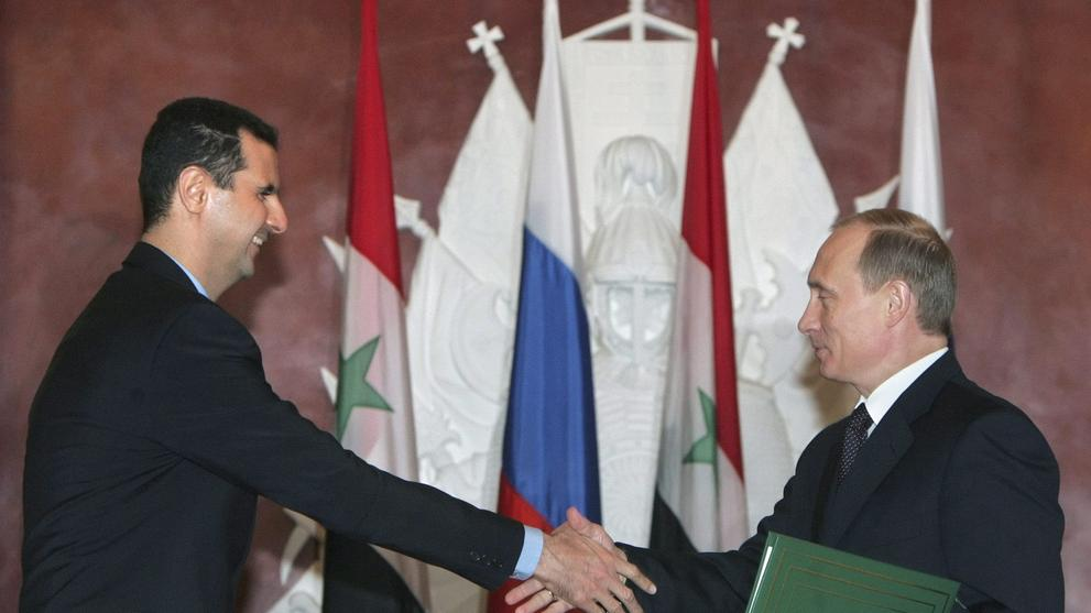 Assad's backers might have won him the war – but now they need US help
