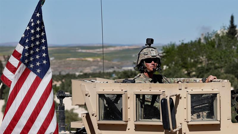 US says 200 troops to remain in Syria after forces' withdrawal