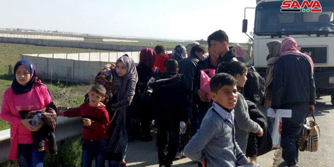 More Syrians Return From Jordan Camps Through Nasib - The Syrian