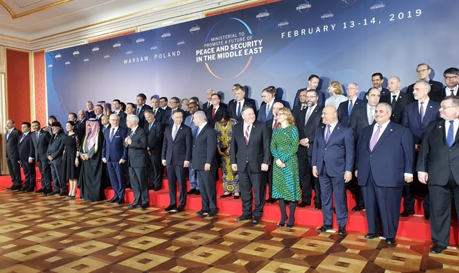 Over 60 Countries Rally Against Iran at Warsaw Conference