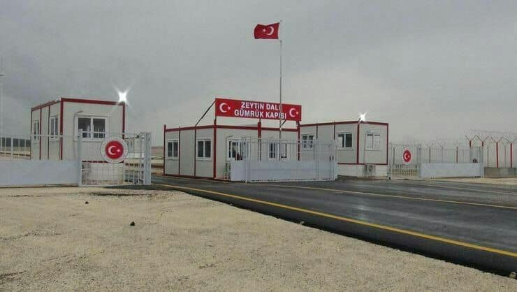 Turkey opens new border crossing with Syria's region