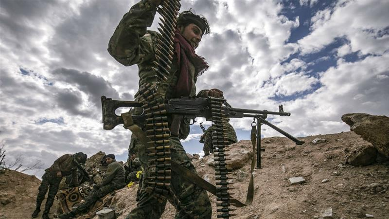 Syrian fighters say 'thousands' still inside last ISIL pocket