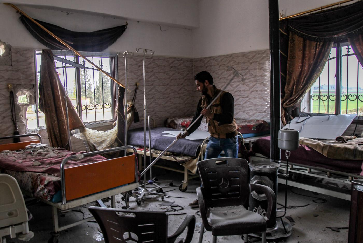 Syrian war-wounded struggle for treatment amid hospital devastation
