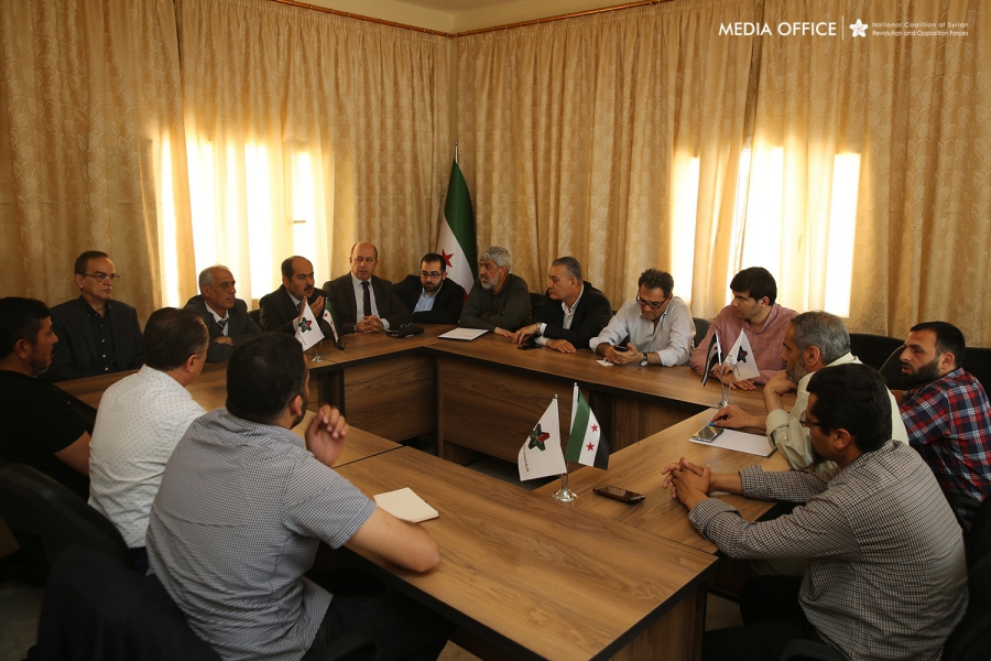 Syrian Coalition's Political Committee Convenes in Aleppo Countryside