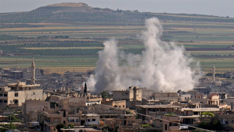 Turkey says Syrian forces hit observation tower in Idlib