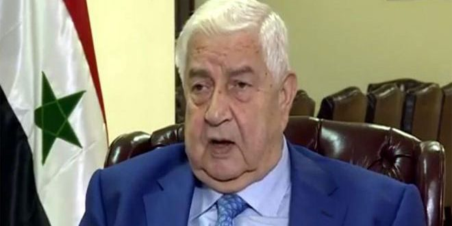 Muallem in Beijing to Discuss Relations Between Syria and China