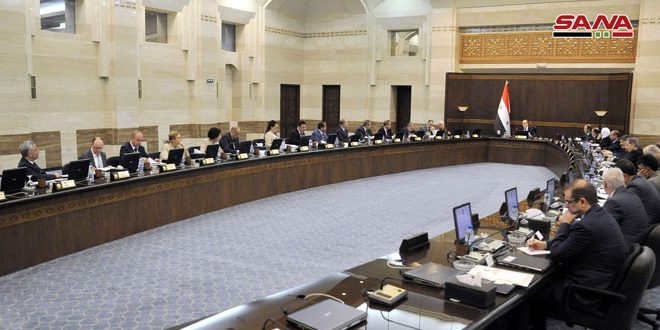 Cabinet Discusses Services Projects in Aleppo and the Restoration of Its Old City