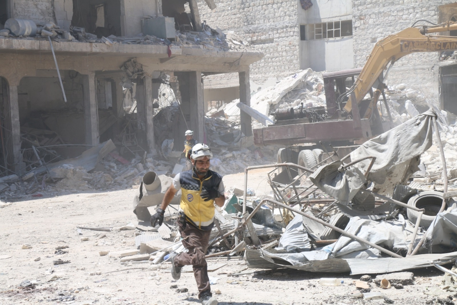 Syrian Coalition Urges International Community to Stop Bombing of Civilians