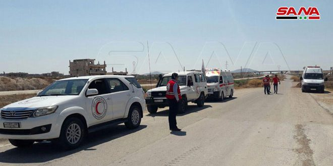 Humanitarian Corridor Opened for Citizens From Hama and Idleb