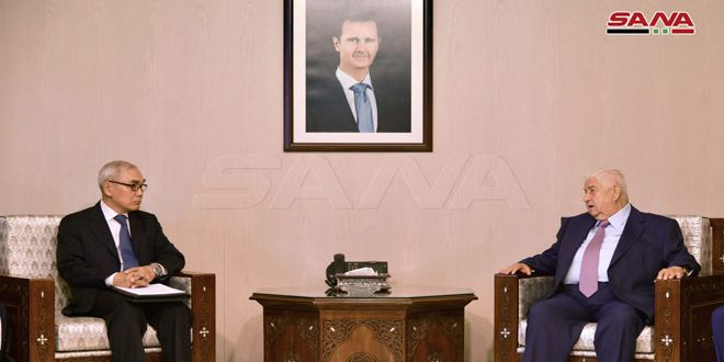 Syria and China Discuss Bilateral Relations