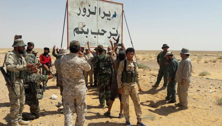 17 Pro-Iran MilitantsKilled in Eastern Syria
