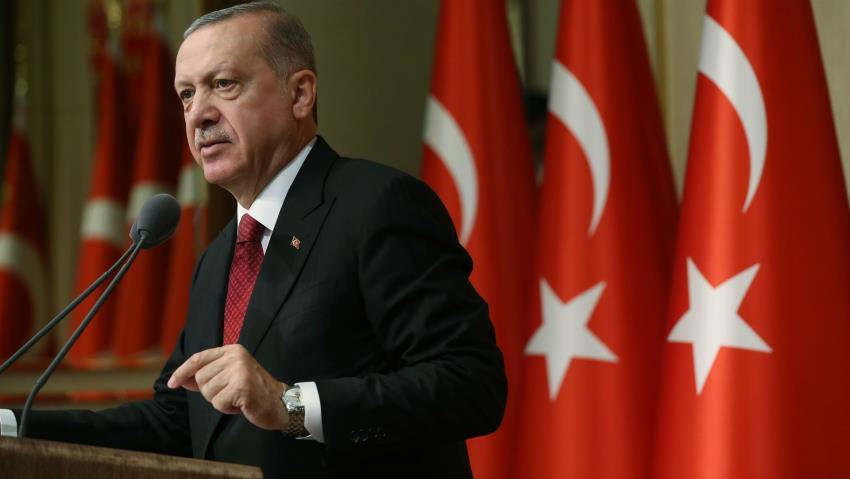 Turkey's President Erdogan Says Syria 'Safe Zone' Could Host 3 Million People