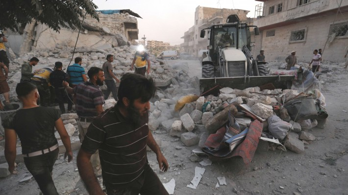 Is the Syrian war over?