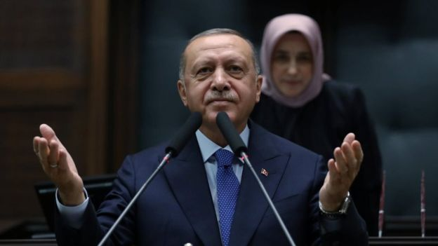 Erdogan vows to press on with 'safe zone' plan