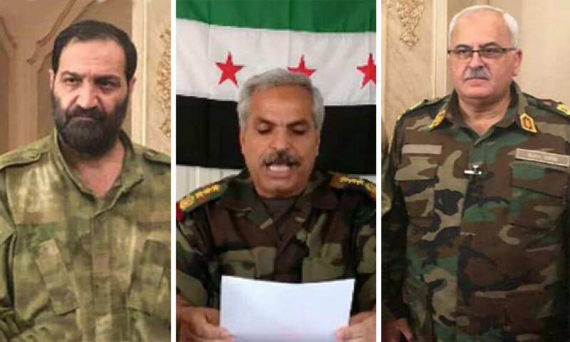 Three Leaders Take Reins of National Army in Northern Syria: Who Are They?