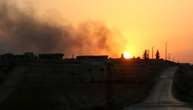 Mother and Child Killed in Russian Airstrikes on Idleb