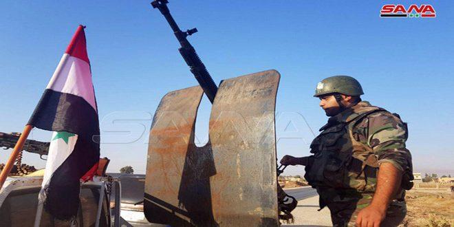Syrian Army Enters Tel Tamr