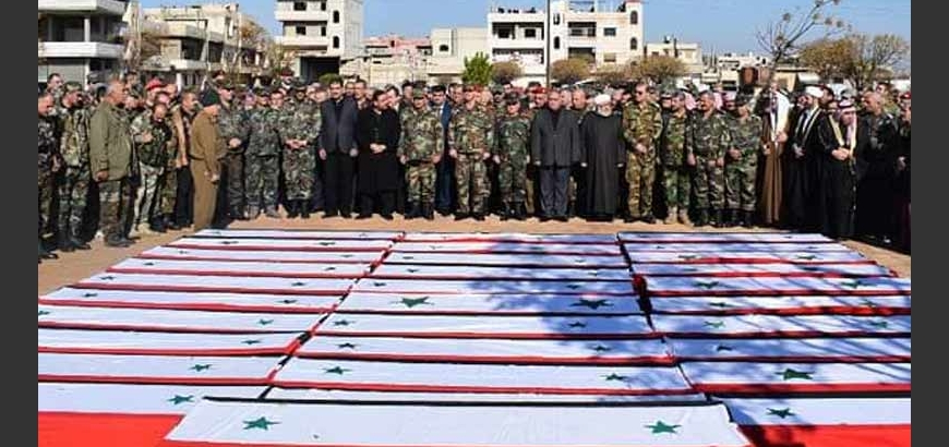 Over 100,000 Members of Assad's Forces Killed and Wounded Since 2011