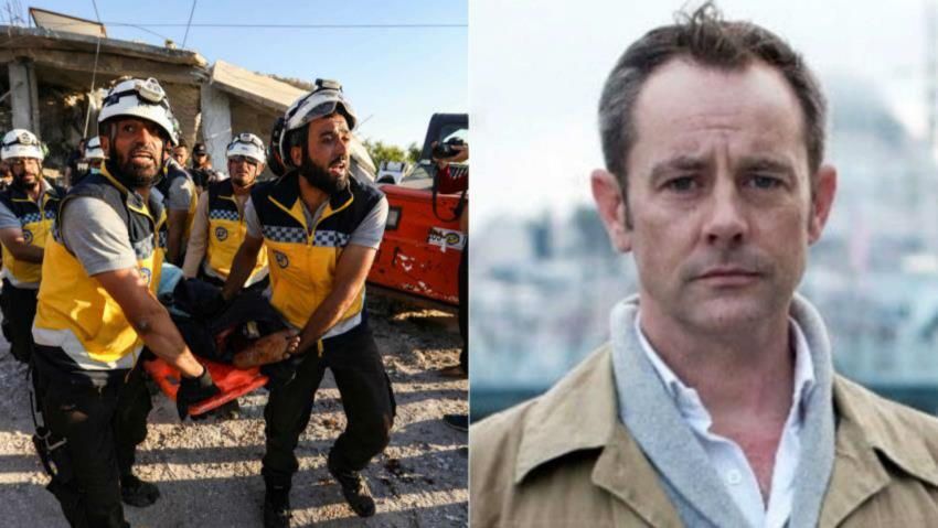Mourning the loss of a true humanitarian: Ally of Syria's White Helmets, James Le Mesurier