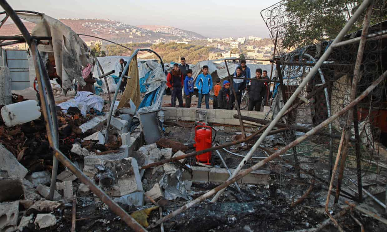 Syrian regime targets hospital and refugee camp, killing at least 22