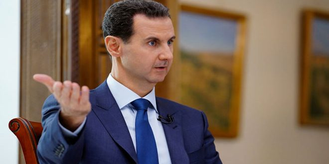 President Assad: Majority of Syrian People Support Their Government