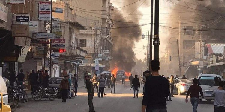 Three Blasts Near Security Square in Central Qamishli
