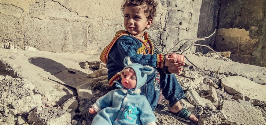 On World Children's Day a Report Documents the Killing of 30,000 Syrian Children