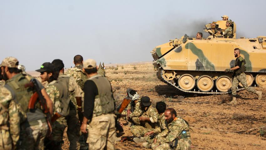 10 Kurdish Fighters Killed in Turkish Shelling in Syria as Clashes Resume