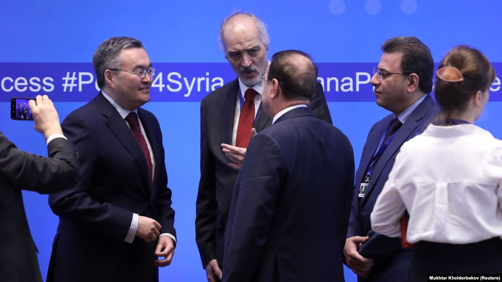 Russia, Turkey, Iran Hold 14th Round Of Talks On Syria War In Kazakhstan