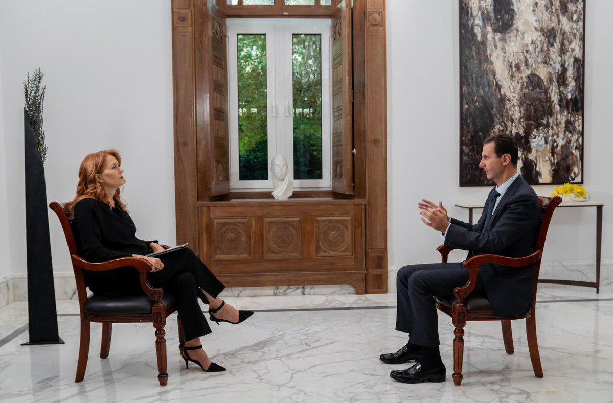 Italian TV Network Refuses to Air an Interview With Assad