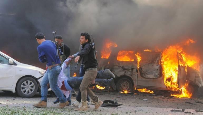 YPG's Car Bomb Rocks Ras al-Ayn