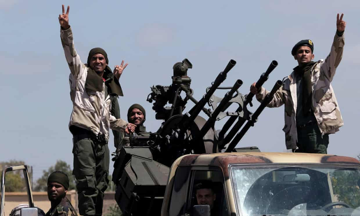 Exclusive: 2,000 Syrian fighters deployed to Libya to support government