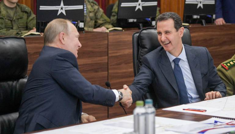 Assad and Putin Meeting: No Fourth Term for President Assad