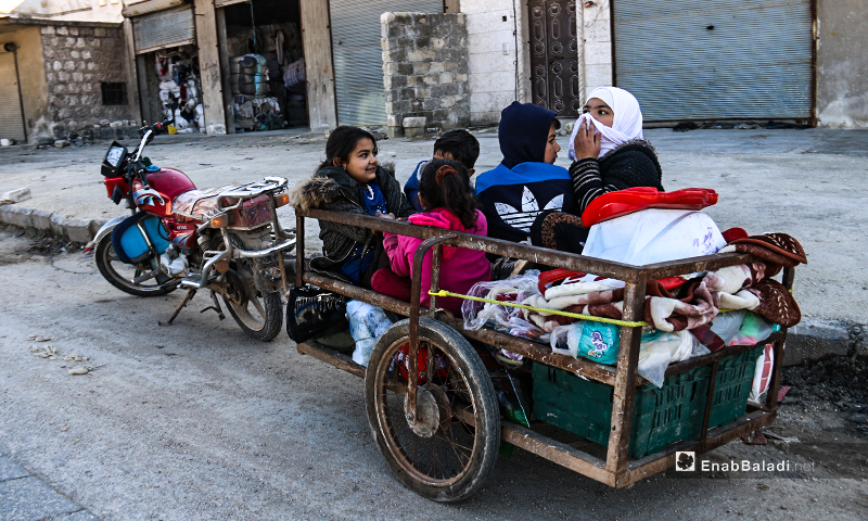 Displacement After Displacement. Northern Syrian Strangles Its Residents