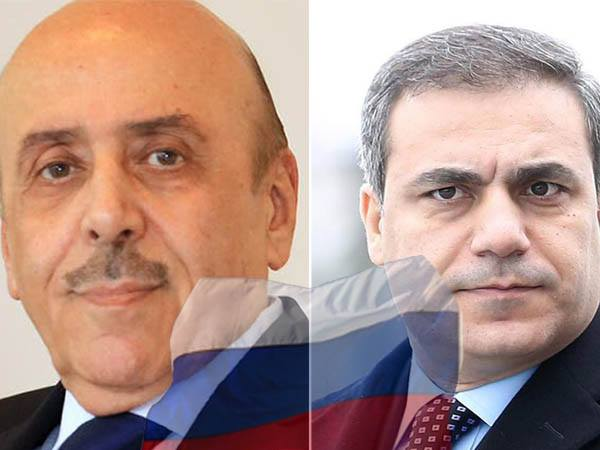 Senior Intelligence Leader Mamlouk Meets His Turkish Counterpart