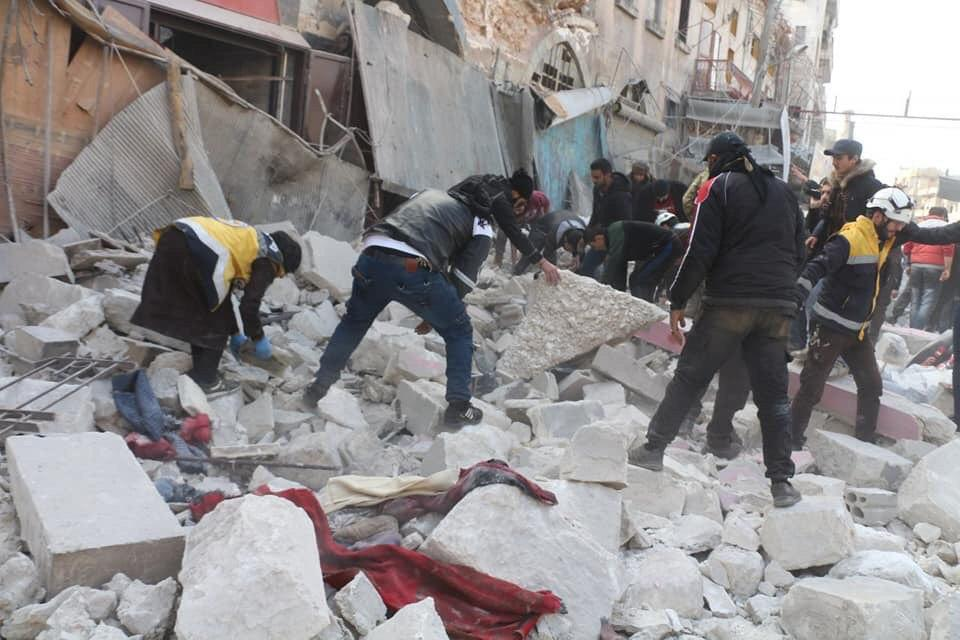 "Massacre by Assad's Forces in Idleb While Turkey Talks About a New ""Safe Zone"""