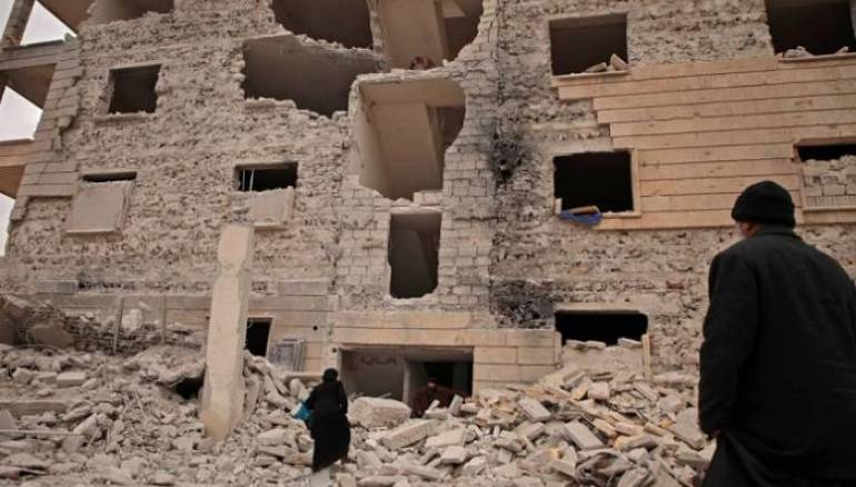 Russian Airstrikes Kill Four Displaced People in Aleppo