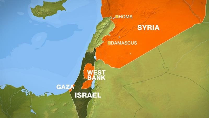 Syrian army says Israeli jets attacked airbase in Homs