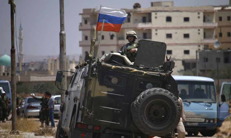 Russia Enters Daraa to Release Regime Captives