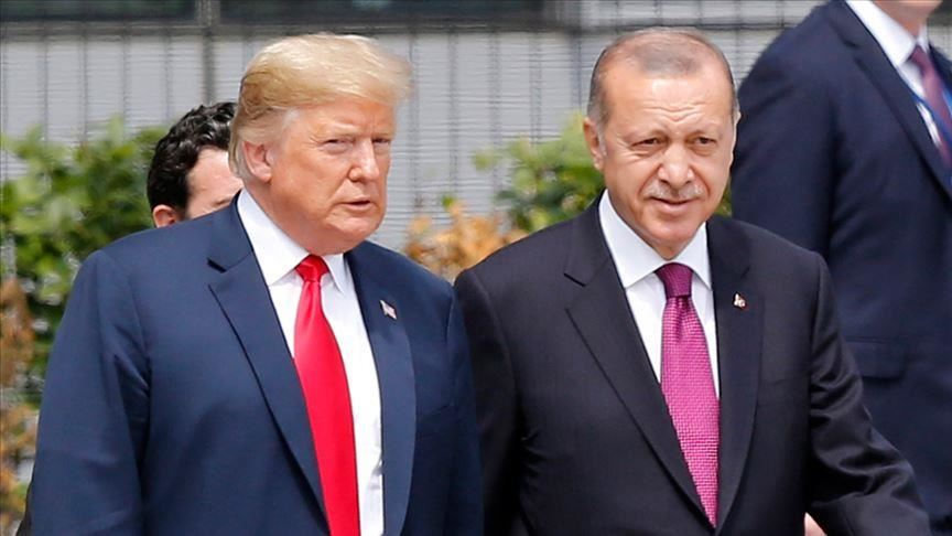 Trump speaks with Erdogan about Libya, Syria