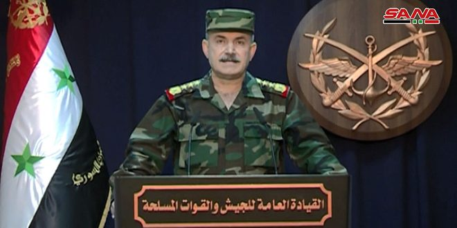 Army Regains Full Control Over Tens of Villages, Towns in Aleppo Western, Northwestern Countryside, Army Command Says