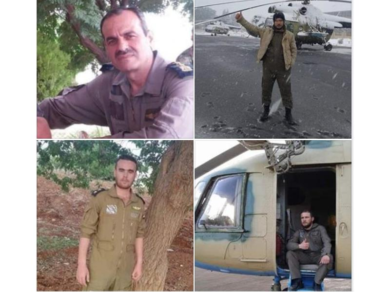 Four Officers Killed in Helicopter Shot Down in Eastern Idleb