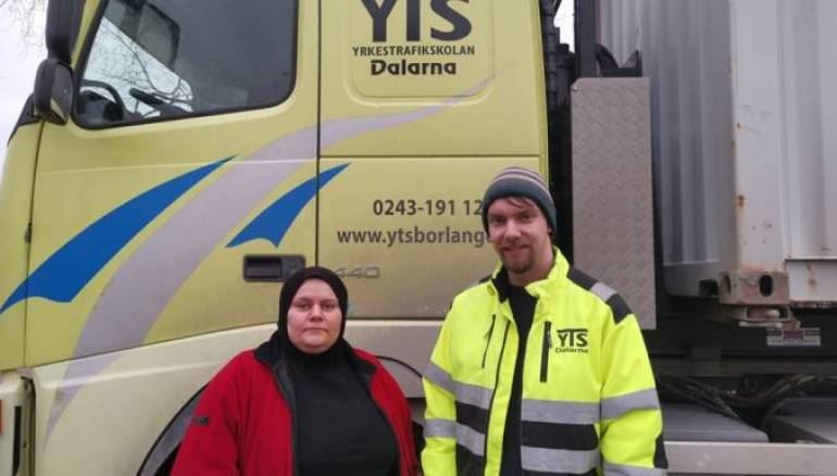 Syrian Refugee in Sweden Defies Stereotypes to Work as Truck Driver