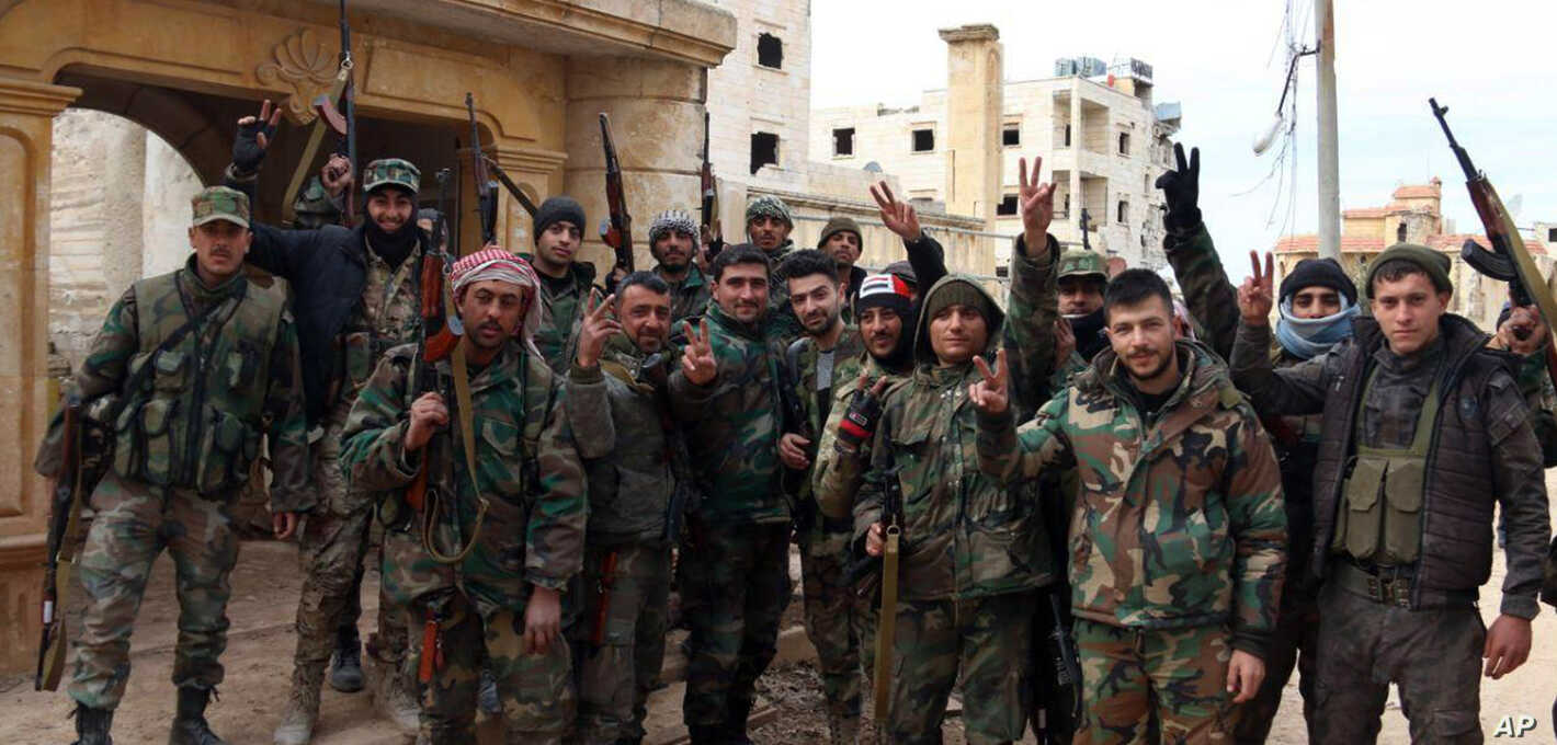 Syria Military Hails Advance Against Rebels in 'Record Time'