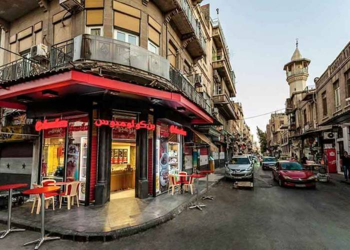Damascus Investors Close Their Shops in the Capital's Markets and Head to the Countryside